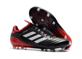 adidas Copa 18.1 FG Cold Blooded - Core Black/Footwear White/Real Coral