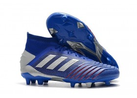 Adidas Predator 19.1 FG - Bold Blue/Silver Metallic/Football Blue
