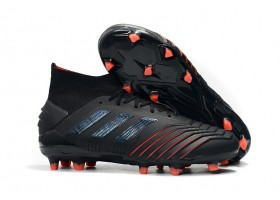 Adidas Predator 19.1 FG - Core Black/Active Red