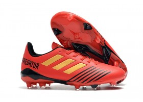 Adidas Predator 19.4 FG - Active Red/Solar Red/Core Black