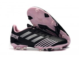 Adidas Predator 19.4 FG - Black/Silver Metallic/Purple