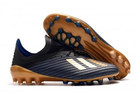 Adidas X 19.1 AG Inner Game - Black/Gold/Blue