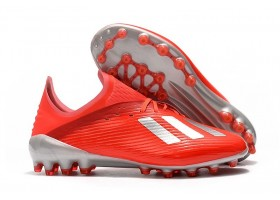 Adidas X 19.1 AG - Red/White/Silver Metallic