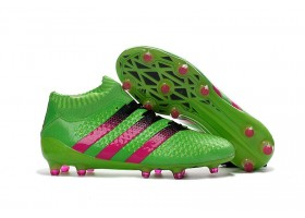 adidas ACE 16.1 Primeknit FG - Solar Green/Shock Pink/Core Black (OUT OF STOCK)