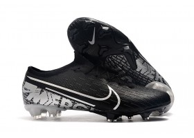 Nike Mercurial Vapor XIII Elite FG  - Core Black/Silver Metallic/White