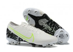 Nike Mercurial Vapor XIII Elite FG - White/Solar Green/Black