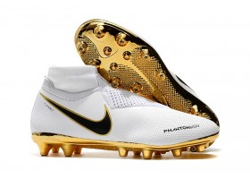 Nike Phantom Vision Elite DF AG - White/Gold