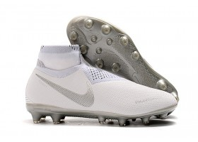 Nike Phantom VSN Elite AG Nouveau White - White/Silver Metallic/White