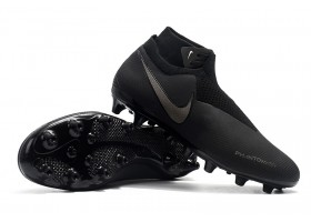 Nike Phantom Vision Elite DF AG - Black/Black