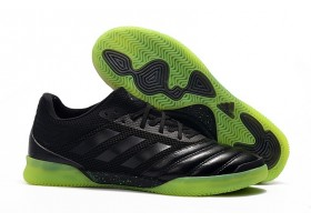 Adidas Copa Tango 19.1 IN - Core Black/Green/Black