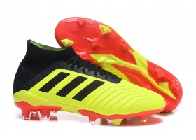 Adidas Predator 18.1 FG 2018 World Cup Boots - Solar Yellow/Core Black/Red