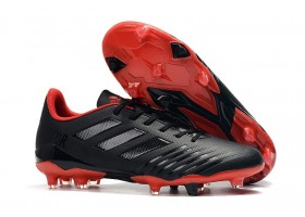 Adidas Predator 19.4 FG - Core Black/Active Red