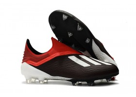Adidas X 18+ FG - Core Black/White/Active Red