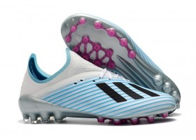 Adidas X 19.1 AG - Light Blue/White/Pink/Black
