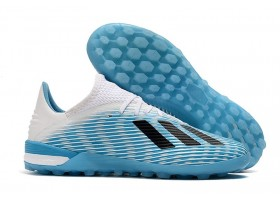 Adidas X 19.1 TF - Light Blue/White/Pink/Core Black