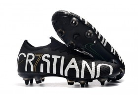 Nike Mercurial Vapor XII CR7 Special Edition Elite SG - Black/Gold/White