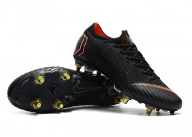 Nike Mercurial Vapor XII Elite SG AC - Football Boots - Black/Total Orange/White