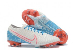 Nike Mercurial Vapor XIII Elite FG - White/Blue/Red