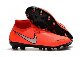Nike Phantom Vision Elite DF AG - Crimson/Black/Silver Metallic