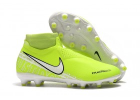 Nike Phantom VSN New Lights Elite AG - Volt/White/Volt